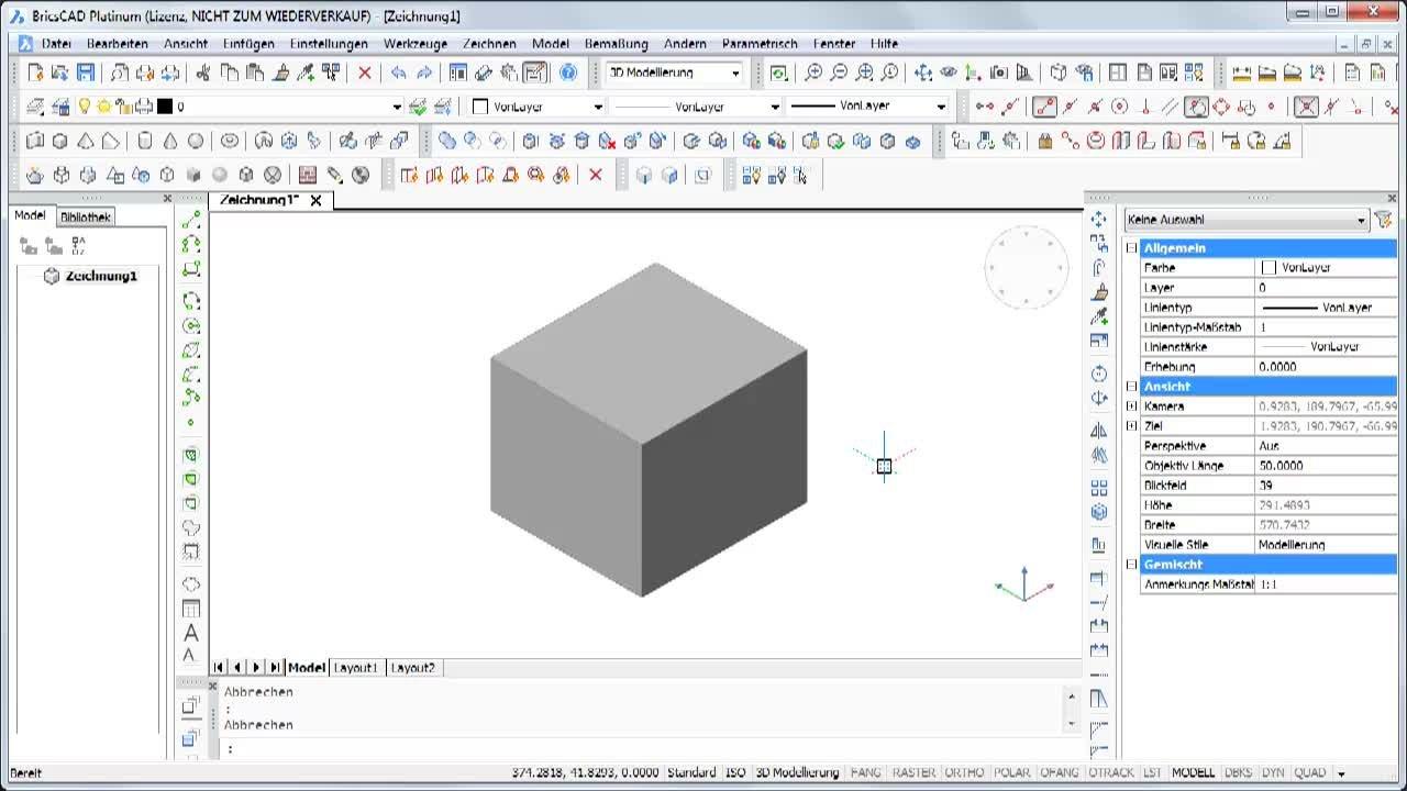 3D Bewegen und orientieren