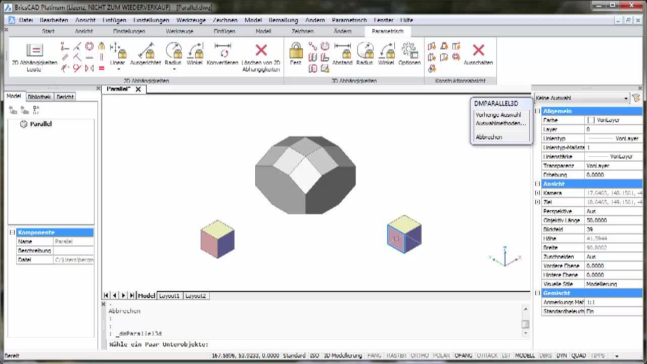 3D-Parametrik Parallel