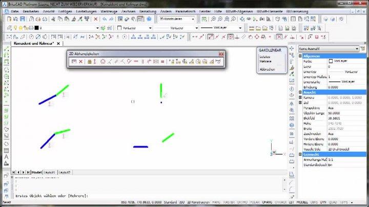 2D-Parametrik Koinzident - Kolinear