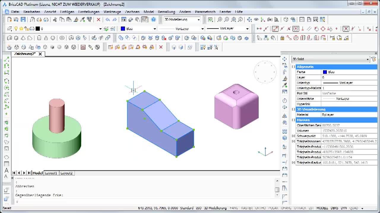 Löschen von 3D Flächen