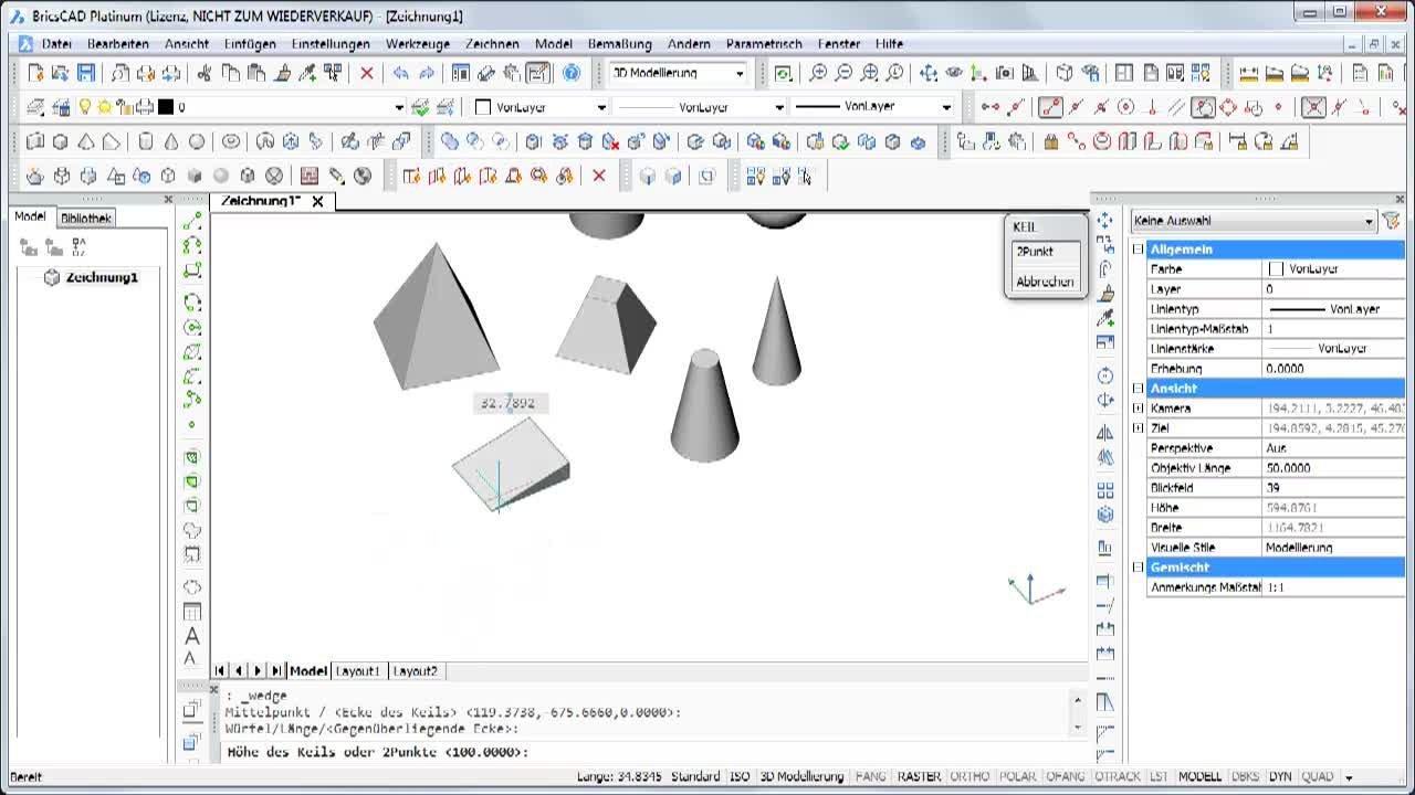 3D Grundelemente