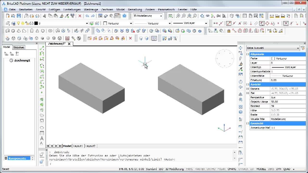 3D Objekte mit QUAD erzeugen