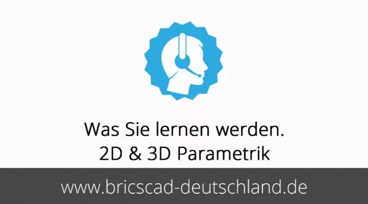 Inhalt BricsCAD Parametrik Channel