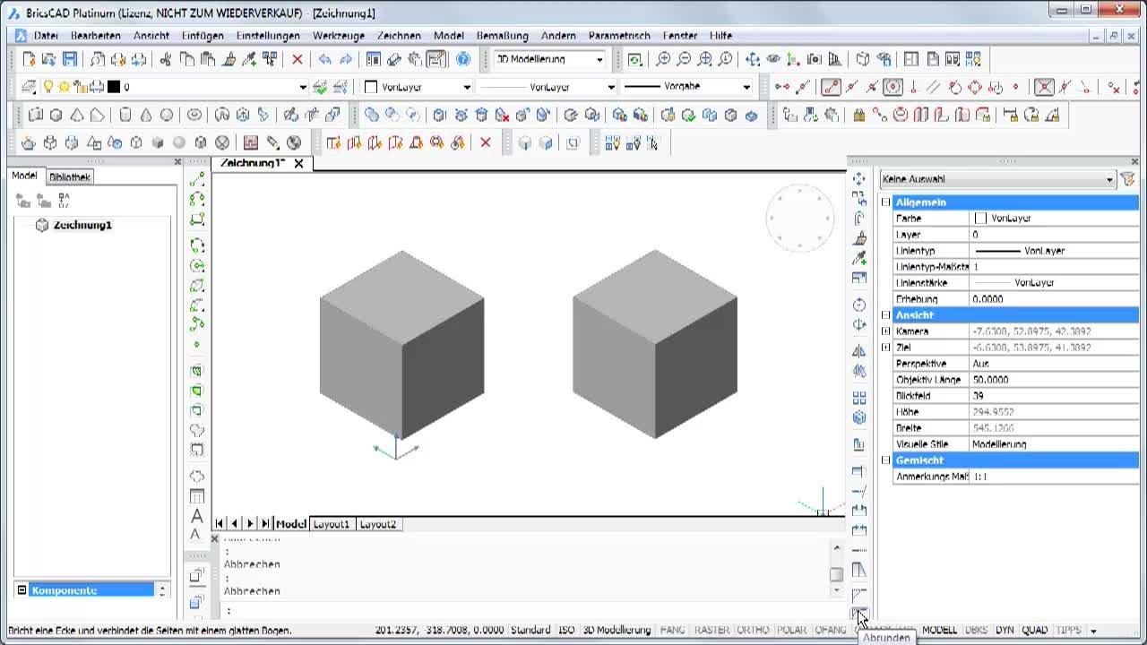 3D-Kanten bearbeiten