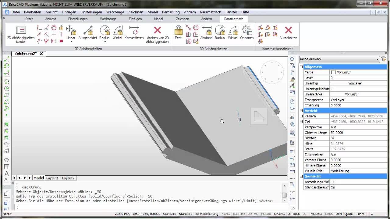 3D-Parametrik Koinzident