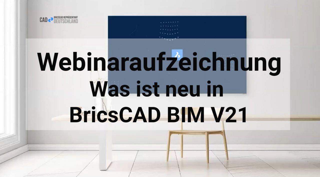 Was ist neu in BIM V21