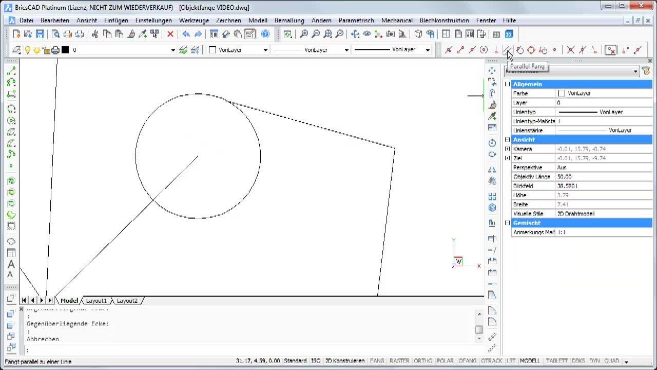 Konstruieren mit Objektfängen 3