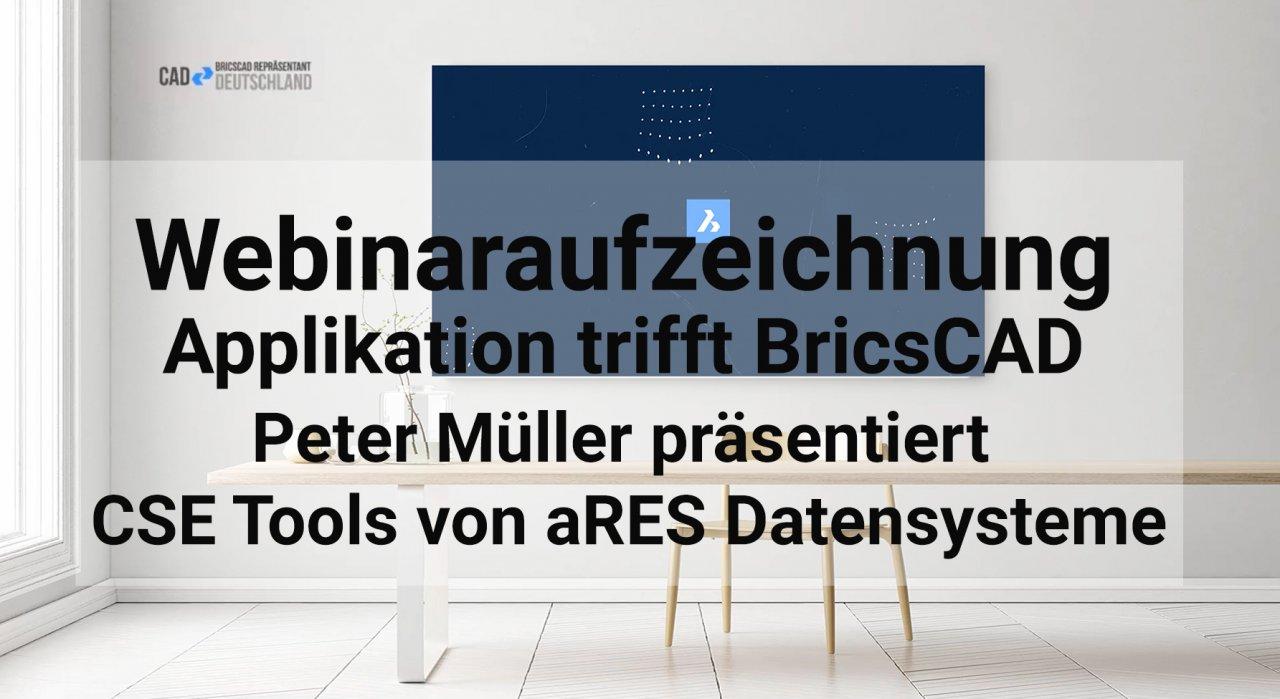 Applikation trifft BricsCAD - cse Tools: professionelle Tiefbaulösungen